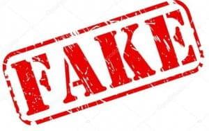 fake buyer beware