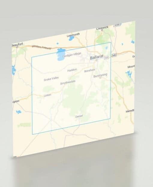Ballarat Gold Map