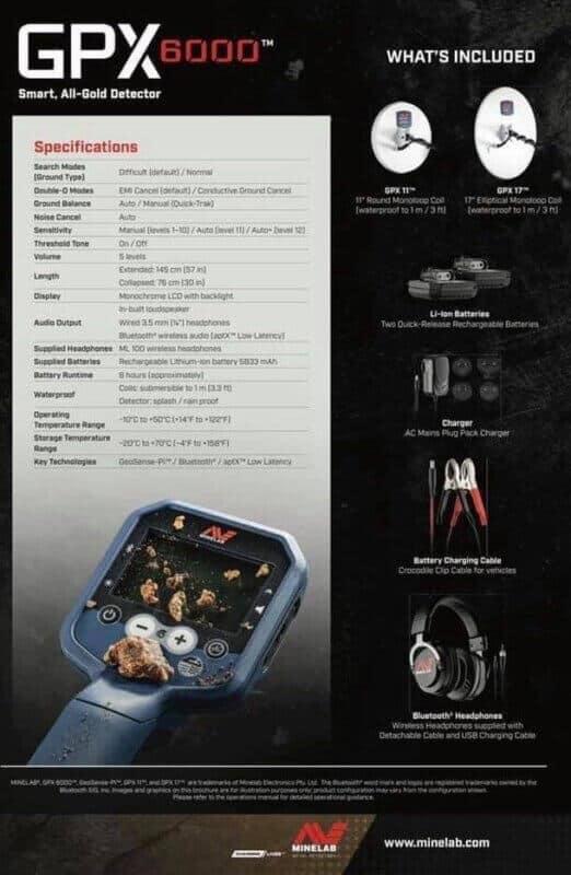Minelab GPX6000