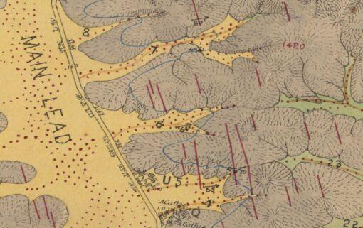 Beaufort Gold Map